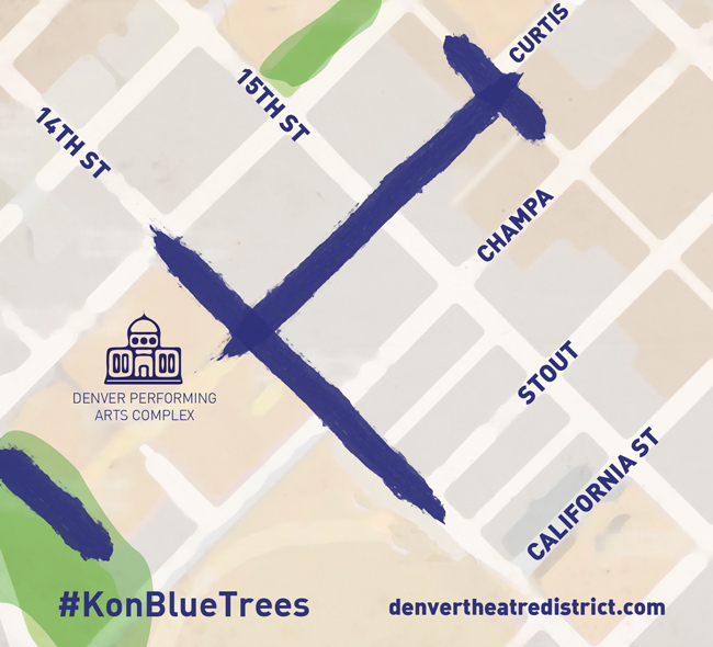 #KonBlueTrees - denvertheatredistrict.com