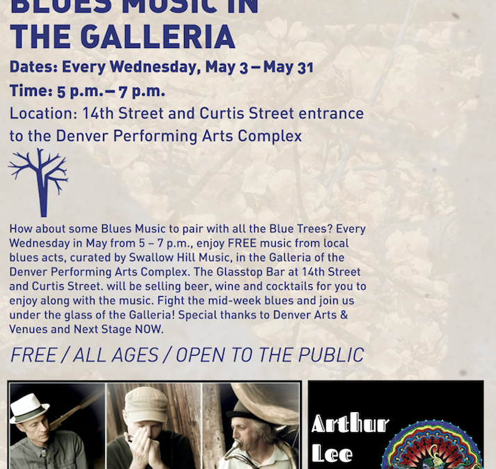 Blues Music in the Galleria – Arthur Lee Land