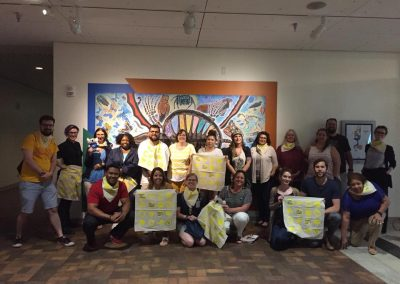 Mental Health First Aid Class, photo courtesy of Katie Kruger