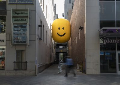 Happy Alleys installation by Stuart Semple